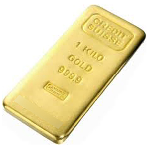 Credit Suisse 1kg Gold Bar