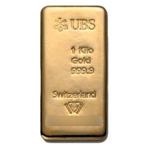 UBS 1kg Gold Bar