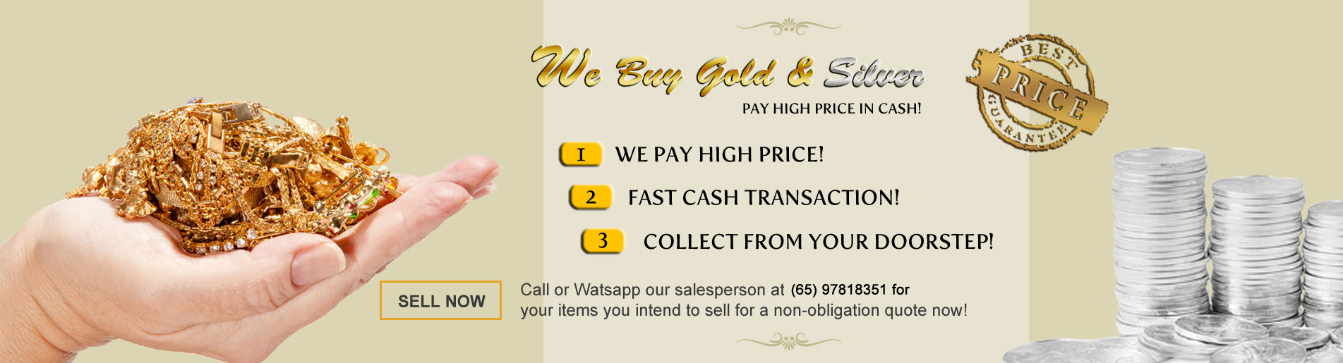 Sell Gold - Sell Silver - Sell Gold Jewellery - Sell Silver Bars, Sell Silver Coins